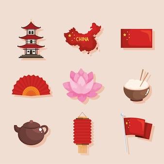 Ícones tradicionais chineses