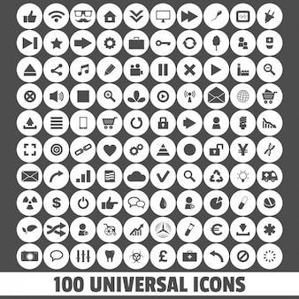 Ícones universais