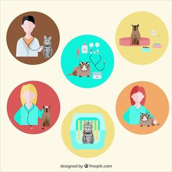 Ícones veterinários