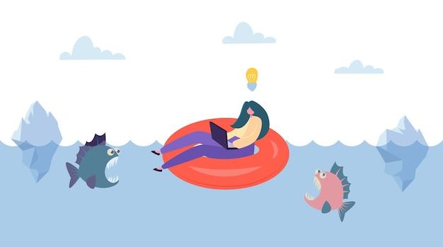 Ideia criativa salva da competição empresarial