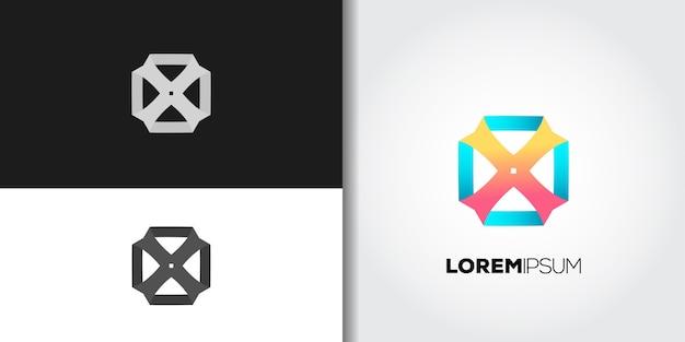 Ideia de conjunto de logotipo motif