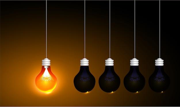 Idéia de lâmpada