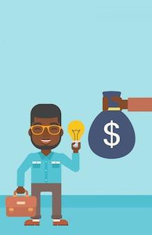 Ideia de negócio bem sucedido