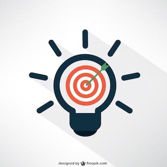 Idéia e alvo conceito