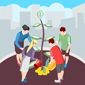 Ideia estimulante para financiamento coletivo