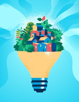 Ideias para um planeta sustentável e futuro