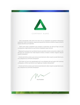 Identidade visual com elementos de logotipo de carta e gradientes brilhantes combinam estilo. modelos de capa de brochura para negócios com nome fictício