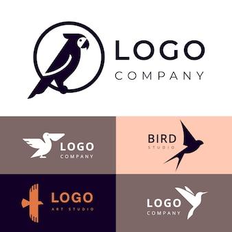 Identidade visual para viagens, zoológico ou outro logotipo da empresa