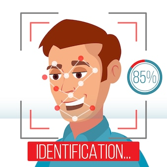 Identificação facial biométrica