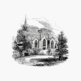 Igreja de ledbury no reino unido