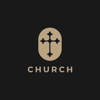 Igreja logo icon ilustração