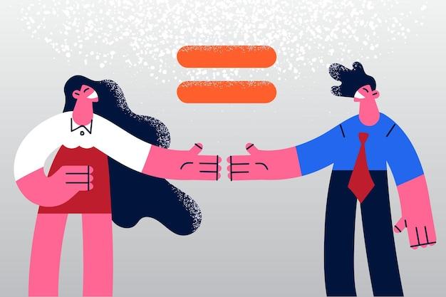 Igualdade no conceito de direitos de gênero