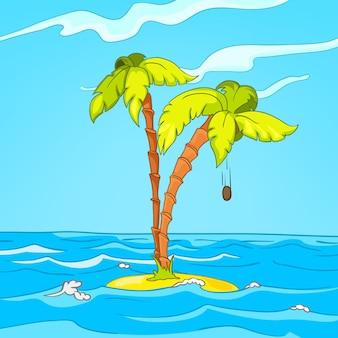 Ilha dos desenhos animados