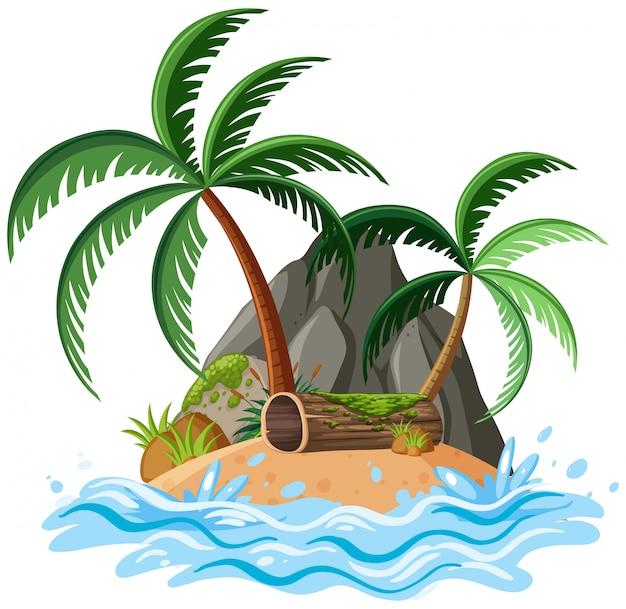 Ilha isolada
