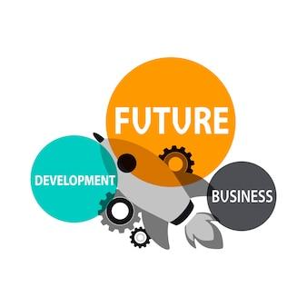 Illsutration do conceito de negócio
