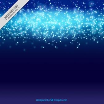 Ilumina o fundo banda azul