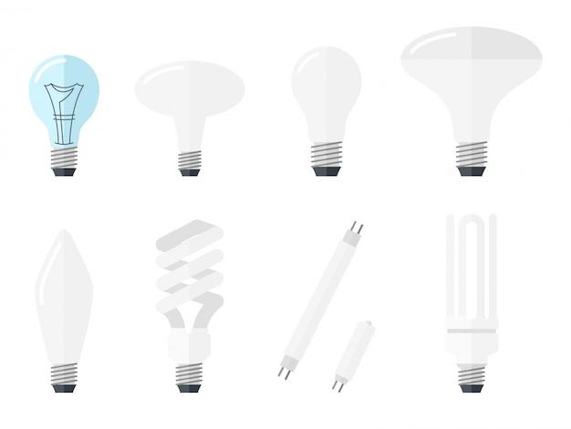 Iluminação elétrica lâmpada incandescente