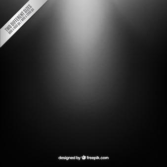 Iluminado fundo preto