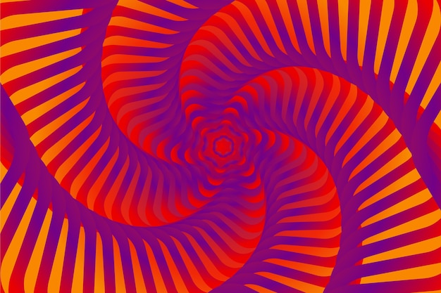 Ilusão de óptica psicodélica
