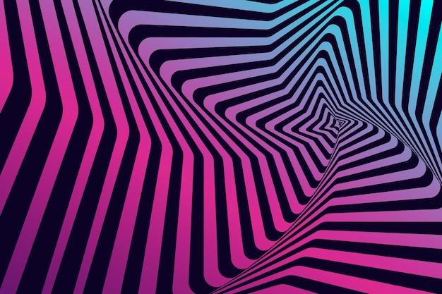 Ilusão de ótica de fundo