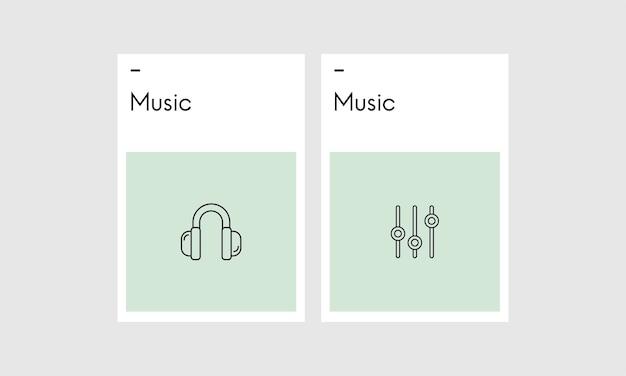 Ilustação de concpet música