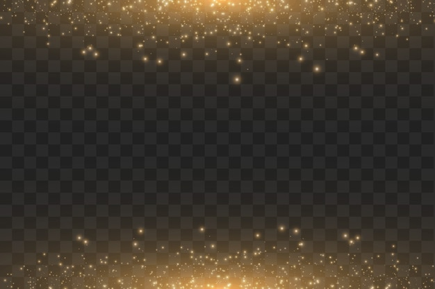 Ilustração abstrata da onda do brilho da nuvem dourada.
