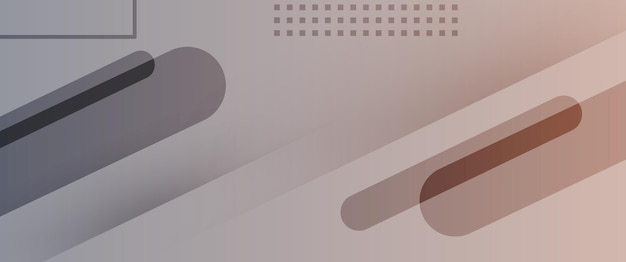 Ilustração abstrata tecnologia marrom cinza gradiente papel de parede fundo vetorial