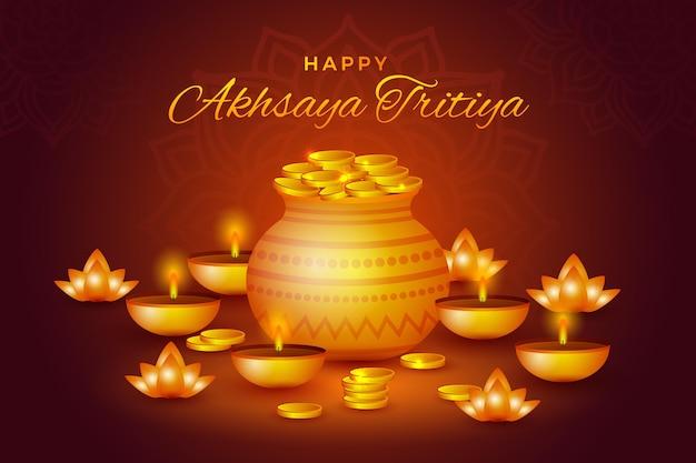 Ilustração akshaya tritiya