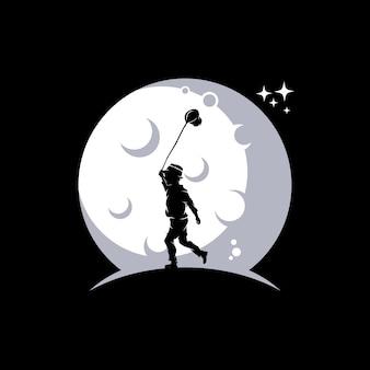 Ilustração alcançando as estrelas