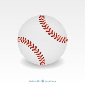 Ilustração bola de beisebol