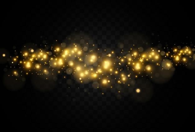 Ilustração brilhante e bonita em starvector de um efeito de luz em um fundo transparente