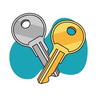 Ilustração chave