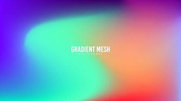 Ilustração colorida abstrata do molde do fundo do inclinação