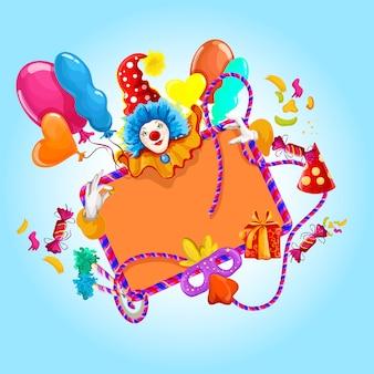 Ilustração colorida de celebração