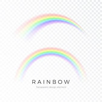 Ilustração colorida do arco-íris abstrato