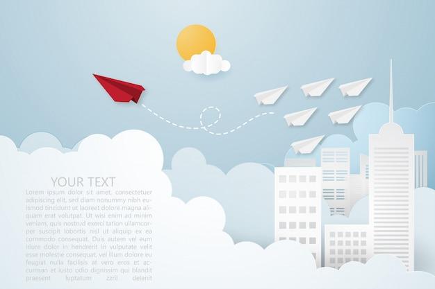 Ilustração criativa vector liderança