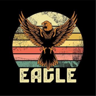Ilustração da águia