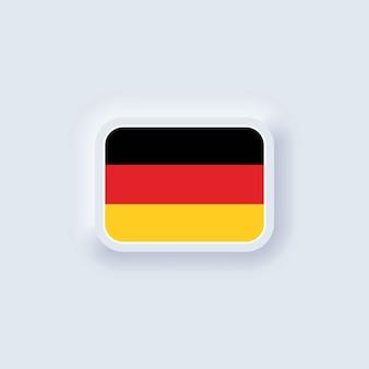 Ilustração da bandeira da alemanha