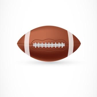 Ilustração da bola de rugby
