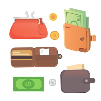 Ilustração da bolsa