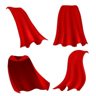 Ilustração da capa vermelha