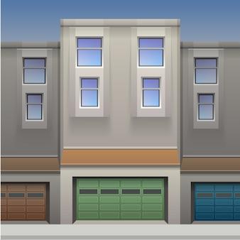 Ilustração da casa. .