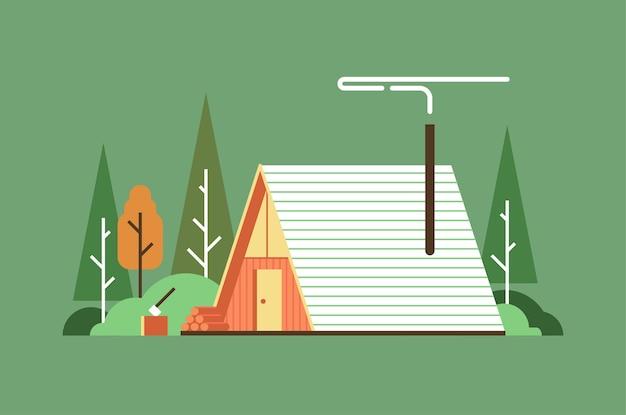 Ilustração da casa