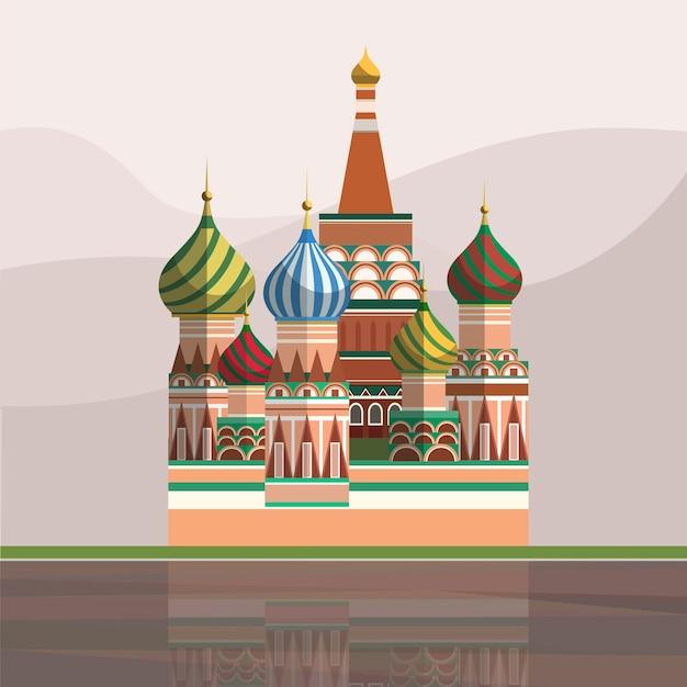 Ilustração da catedral de são basílio