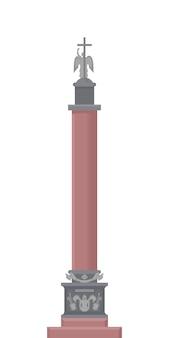 Ilustração da coluna de alexander.