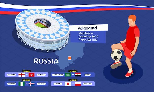 Ilustração da copa de futebol