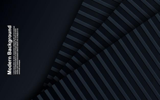 Ilustração da cor preto e azul abstrato