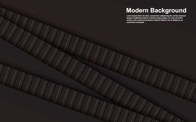 Ilustração da cor preto e marrom abstrato