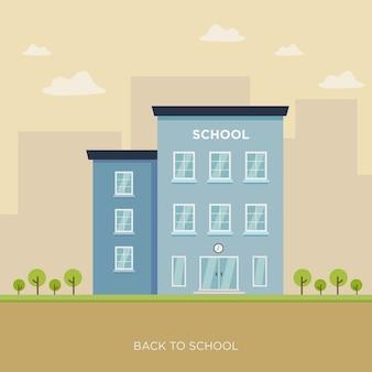 Ilustração da escola