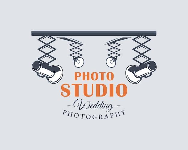 Ilustração da etiqueta do estúdio fotográfico
